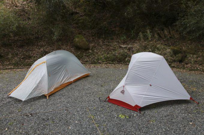 テント、フライクリーク、ハバ