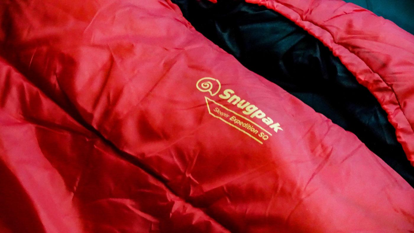 スナグパックの高コスパ寝袋スリーパーエクスペディションは薄着で寝たい人や身長が小さい人にはオススメしない